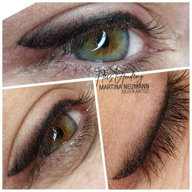 Oční linky - Permanentní Make Up   Martina Neumann   Slaný